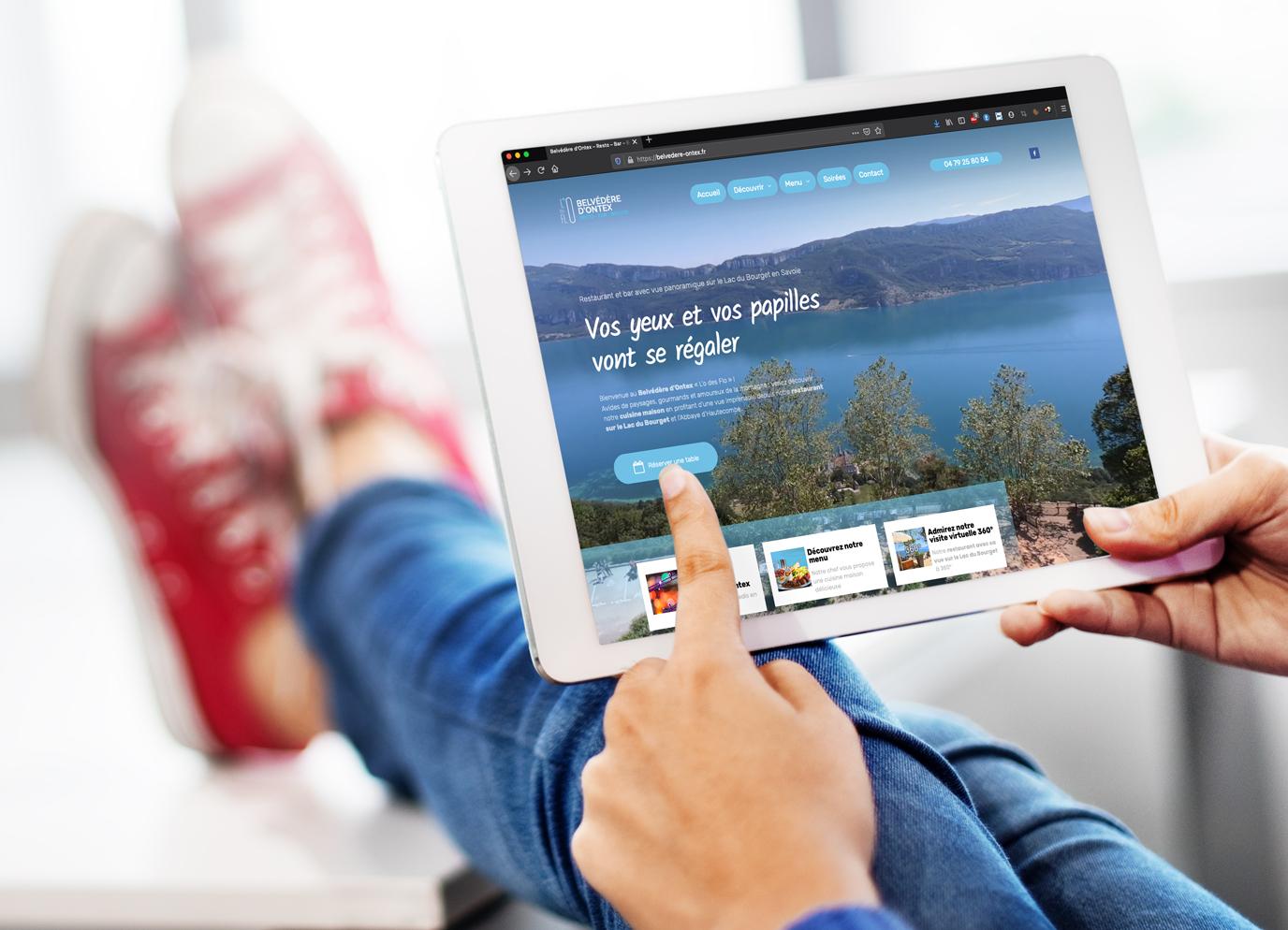 Création de sites internet pour les restaurants à Chambéry