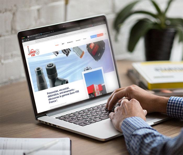 Création site web industriel ecommerce