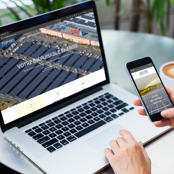 Création site web pour l'énergie solaire